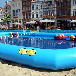 Aqua bootje klein rent fun for Klein opblaasbaar zwembad